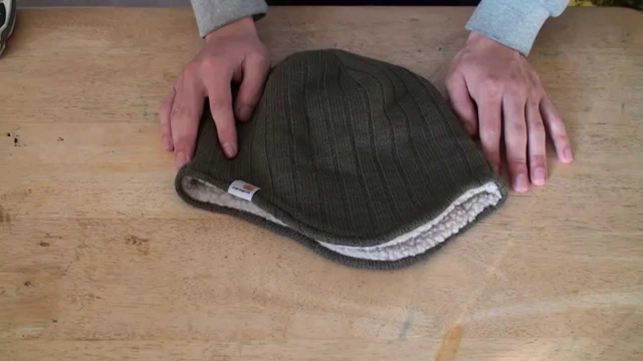 b4fea181178 Carhartt Men s Marled Ear Flap Hat - YouTube