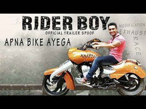 Gully Boy Spoof | RIDER BOY / Apna Bike Aayega | Dabbing Dabang