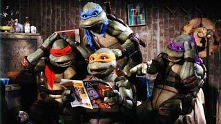 Обзор Teenage Mutant Ninja Turtles Move 1990 Playmates Toys Michelangelo  Review