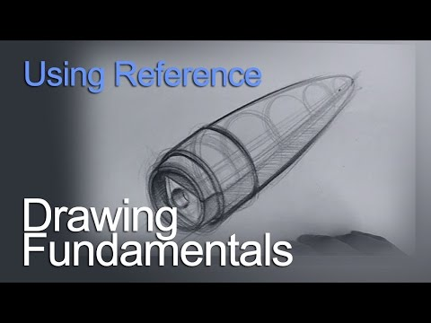 drawing-fundamentals---using-reference---pencil-sharpener