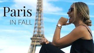 TRAVEL DIARY: PARIS IN FALL