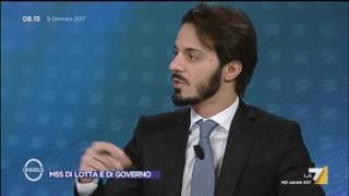 Omnibus - Immigrati operazione CIE e Libia (Puntata 09/01/2017)