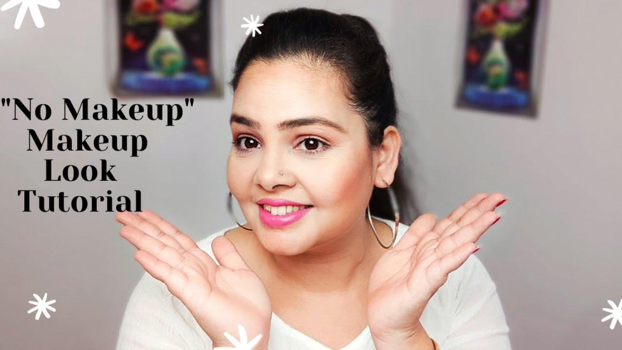 Makeup But Looks Like No Makeup l No Makeup Makeup Look l Kiranshankar
