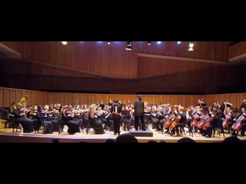 Brahms - Concierto para violin .Op. 77 (Mov 3) [Milwaukee Youth Symphony Orchestra]