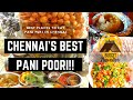 Best Places to Eat Pani Puri in Chennai | Best GolGappas Chat Shop - Chennai Street Food