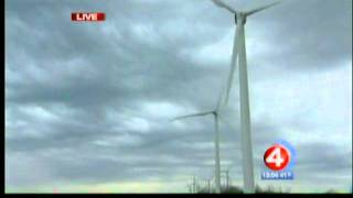 Six wind turbines unveiled in Lackawanna