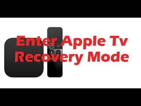 error entering dfu mode apple tv 2