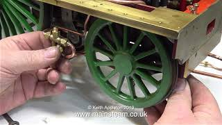 MY STIRLING SINGLE #17 - PIPING THE INJECTOR TO THE BOILER