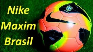 Nike Maxim Brasil Match Ball - Unboxing