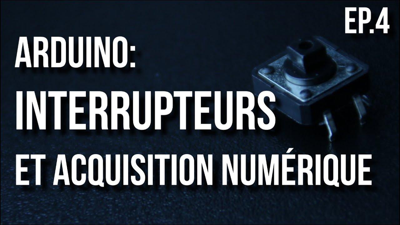 fabriquer un dos num rique Uu003dRI | Arduino Ep.4 - Interrupteurs et acquisition numérique