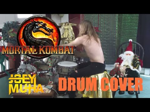 Mortal Kombat Theme Drumming - JOEY MUHA