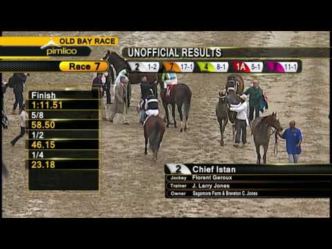 Pimlico May 21, 2016 Race 7