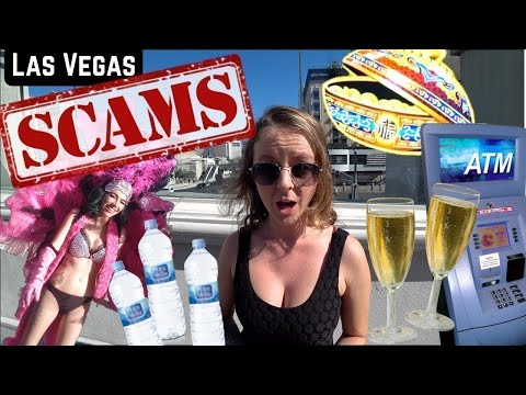 14 WORST SCAMS and TOURIST TRAPS in LAS VEGAS