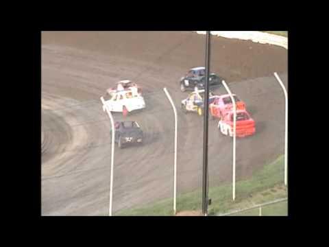 Eagle Raceway Sport Compact Heat 2 on 8-6-16