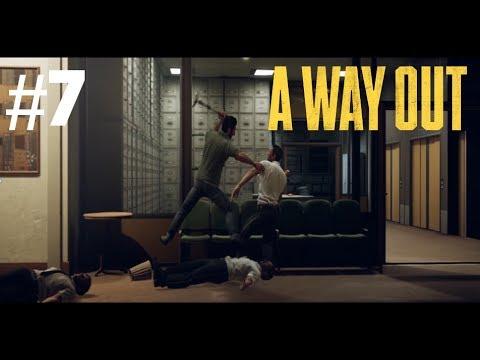 Aiheutetaan kohtaus sairaalassa - A Way Out