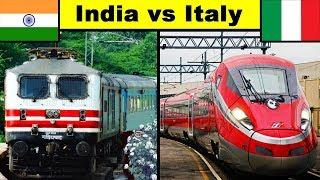 India vs Italy Railway Comparison