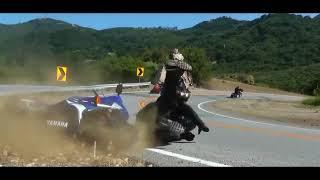 Yamaha accident compilation||Fz,R15,R1,R6,R3💥