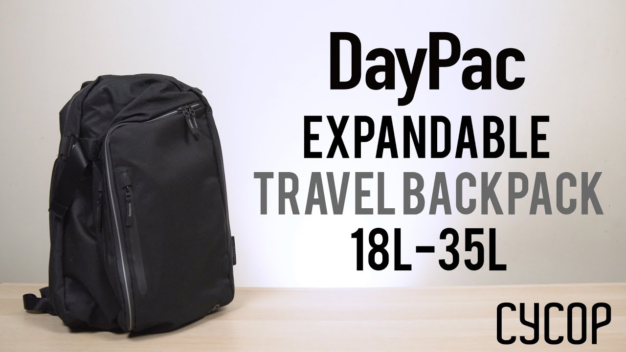 DayPac Travel Backpack by Cycop  b7f373c529554