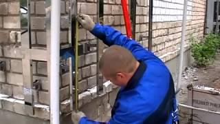 видео Облицовка фасадов дома плиткой: как сделать своими руками