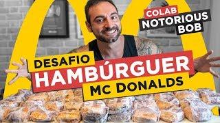 Desafio do Hambúrguer do McDonalds (COLAB com Notorious BoB!!)