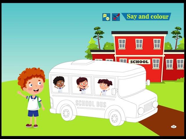Say and Colour - Cim and Cimcime - Okul Öncesi İngilizce Eğitim