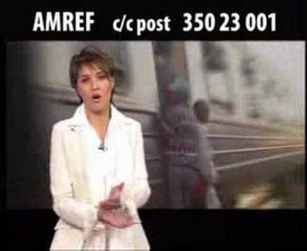 AMREF: paola cortellesi contro la fame