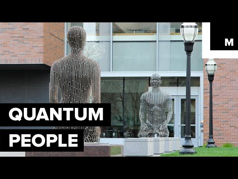 These Sculptures Combine Interactive Art and Quantum Science