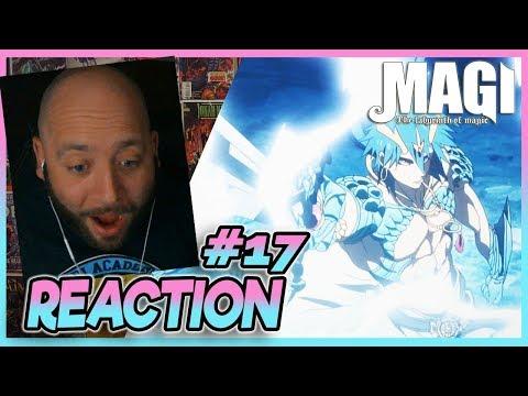 "Magi Labyrinth Of Magic Episode 17 REACTION ""Smile"""