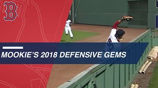 The Best of Mookie Betts' Defense