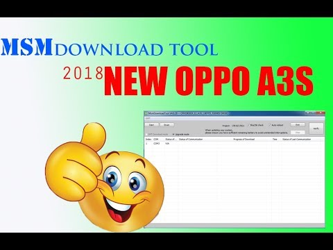 msmdownloadtool-oppo-a3s-new-2018..!!!
