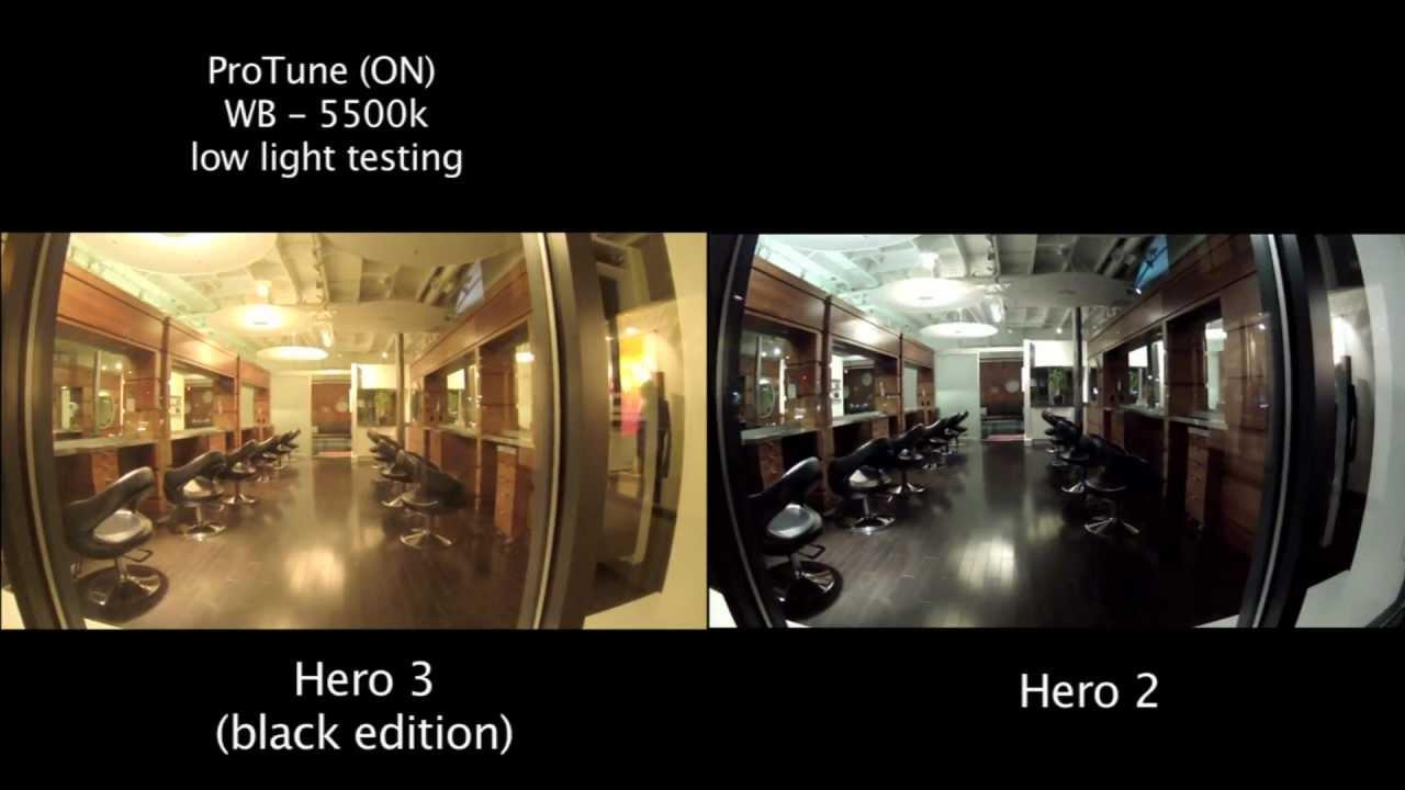 GoPro Hero 3 / 2 Low Light Comparison - 5500k With ProTune - GoPro Tip #58 - YouTube & GoPro Hero 3 / 2 Low Light Comparison - 5500k With ProTune ... azcodes.com