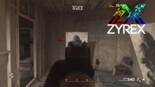 COD 4 Modern Warfare Remastered F.N.G. Obstacle Course 12.4 SECONDS!  Speedrun