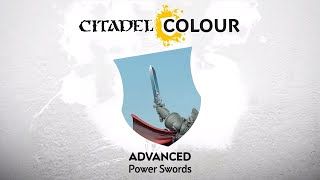 How to Paint: Power Swords