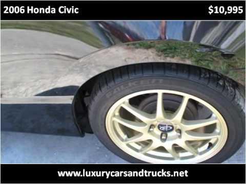 2006 Honda Civic Used Cars Port St. Lucie FL