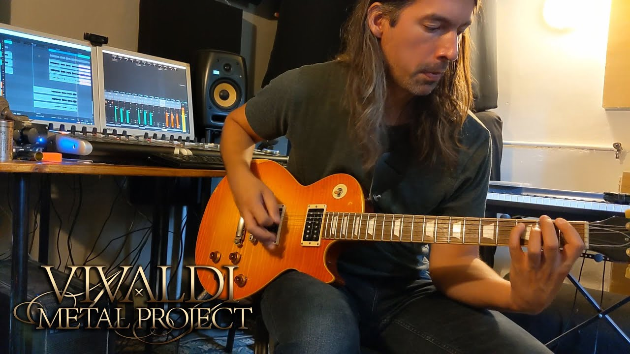 Guitarist Ivan Mihaljevic recording session sneak peek from the studio