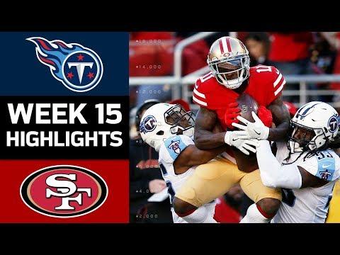 Titans vs. 49ers | NFL Week 15 Game Highlights