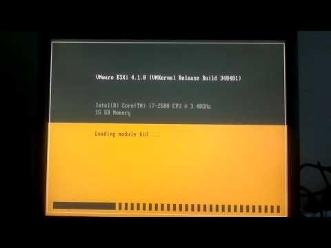 ESXi 4.1.0 build 348481 NIC 82579LM error during installation