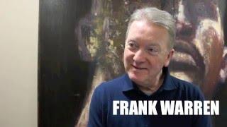 FRANK WARREN RULES OUT SAUNDERS-EUBANK REMATCH, TALKS RIGO IN UK & SAYS JOSHUA SHOULD FIGHT MARTIN.