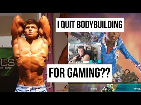I Quit Bodybuilding For Gaming | Apex Legends Season 4