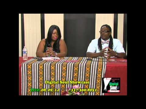 """Digital Soul TV with UpTown Water interview of Nicole Perry from """"Talk To Me New Orleans"""""""