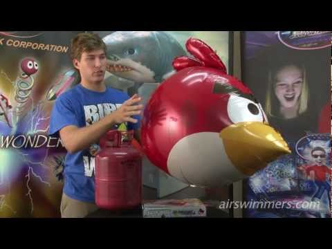 Angry Birds Air Swimmers Instructional Video (by William Mark Corporation)