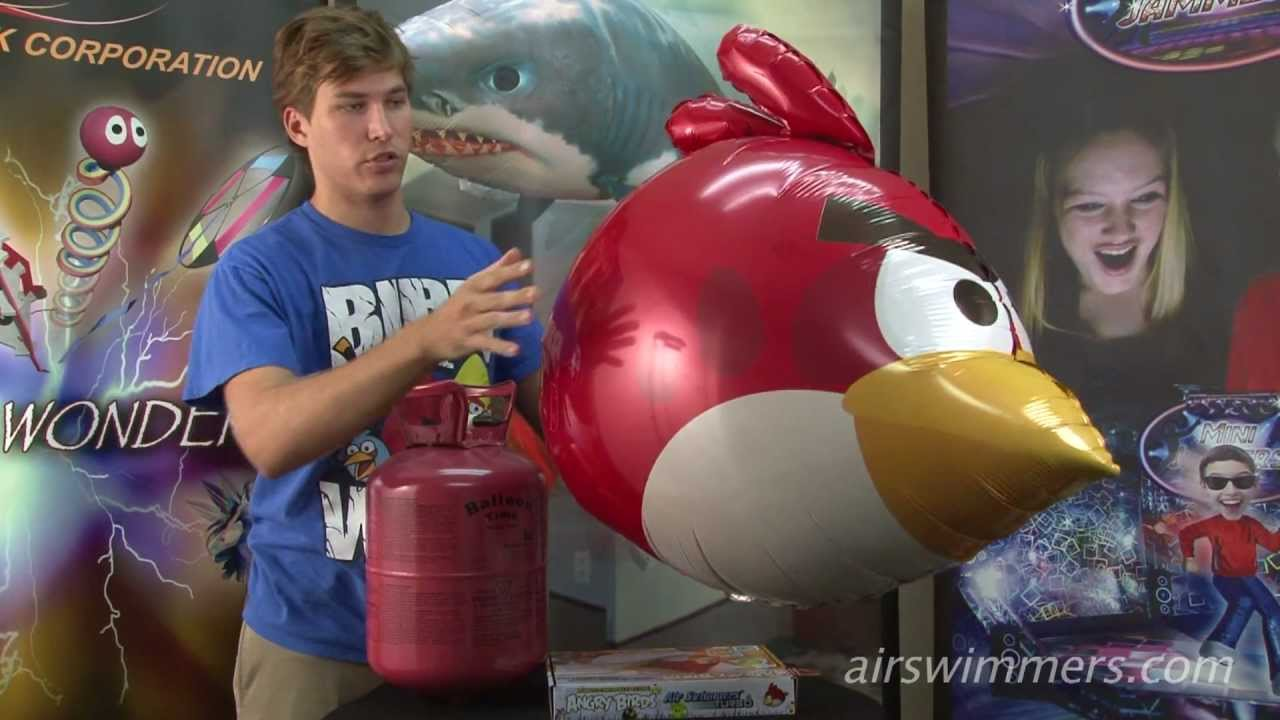 Angry Birds Air Swimmers Space