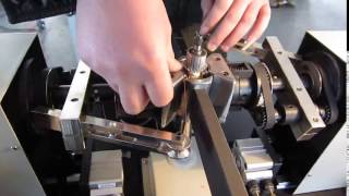 Semi-auto armature winder rotor winding machine