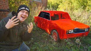 Купили на аукционе автомобиль за 130 тысяч а там мы нашли это