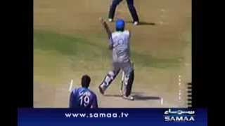 Shahzaib Hassan hits fastest century in domestic cricket.