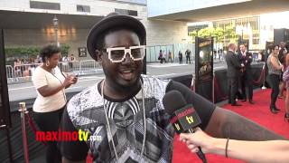 "T-Pain Interview at KEVIN HART ""Let Me Explain"" Movie Premiere Red Carpet in Los Angeles"