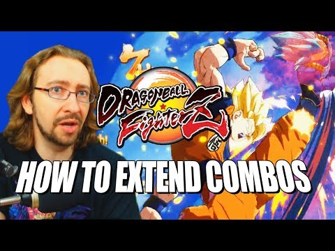 HOW TO EXTEND COMBOS: DragonBall FighterZ w/Maximilian