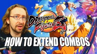 HOW TO EXTEND COMBOS: DragonBall FighterZ w/Maximilian thumbnail