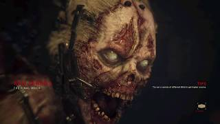 Call of Duty ww2  zombie PS4 Pro Gameplay