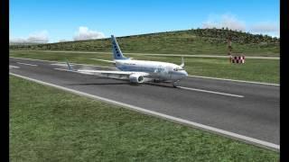 PMDG 737 Landing in Greece FS2004